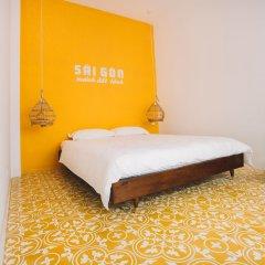 Отель Iamsaigon Homestay 100 Profit For Orphanage комната для гостей фото 4