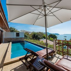 Отель Dream Sea Pool Villa Таиланд, пляж Панва - отзывы, цены и фото номеров - забронировать отель Dream Sea Pool Villa онлайн балкон