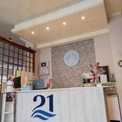 Отель 21 Riccione Италия, Риччоне - отзывы, цены и фото номеров - забронировать отель 21 Riccione онлайн в номере