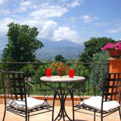 Отель B&B Villa Maria Giovanna Италия, Джардини Наксос - отзывы, цены и фото номеров - забронировать отель B&B Villa Maria Giovanna онлайн балкон