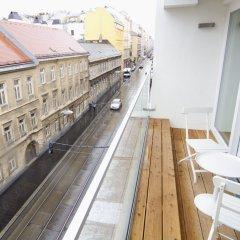 Отель Kaiser Lofts by Welcome2vienna Австрия, Вена - отзывы, цены и фото номеров - забронировать отель Kaiser Lofts by Welcome2vienna онлайн балкон
