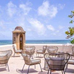 Отель Khalids Guest House Galle пляж