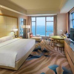 Отель DoubleTree by Hilton Hotel Xiamen - Wuyuan Bay Китай, Сямынь - отзывы, цены и фото номеров - забронировать отель DoubleTree by Hilton Hotel Xiamen - Wuyuan Bay онлайн комната для гостей фото 5