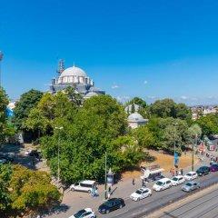 The Hotel Beyaz Saray & Spa Турция, Стамбул - 10 отзывов об отеле, цены и фото номеров - забронировать отель The Hotel Beyaz Saray & Spa онлайн балкон