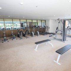 Отель R-Con Wong Amat Suite фитнесс-зал фото 4