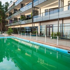 Апартаменты Pirita Beach & SPA фитнесс-зал
