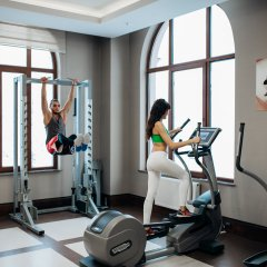 Отель Rixos Krasnaya Polyana Sochi Красная Поляна фитнесс-зал