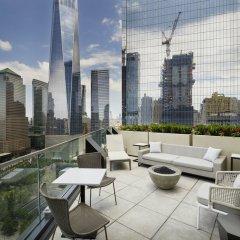 Отель Courtyard New York Downtown Manhattan/World Trade Center балкон