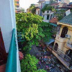 Отель Hanoi 3B Ханой балкон