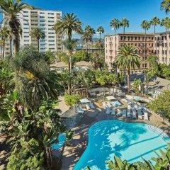 Fairmont Miramar Hotel & Bungalows Санта-Моника бассейн фото 2