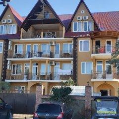 Гостиница Villa Zamok в Сочи 6 отзывов об отеле, цены и фото номеров - забронировать гостиницу Villa Zamok онлайн вид на фасад