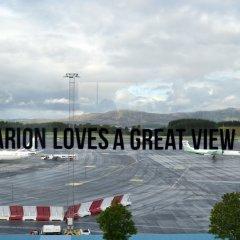 Отель Clarion Bergen Airport Берген приотельная территория фото 2