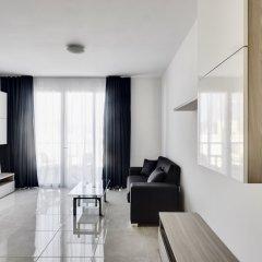 Отель The Village Apartments Мальта, Буджибба - отзывы, цены и фото номеров - забронировать отель The Village Apartments онлайн комната для гостей фото 2