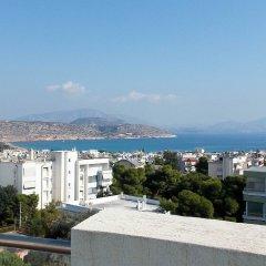 Отель Stylish 2 Bedroom Apartment Spectacular Sea View Греция, Вари-Вула-Вулиагмени - отзывы, цены и фото номеров - забронировать отель Stylish 2 Bedroom Apartment Spectacular Sea View онлайн балкон