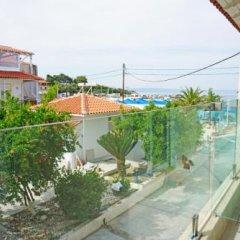 Angelos Hotel Ситония балкон