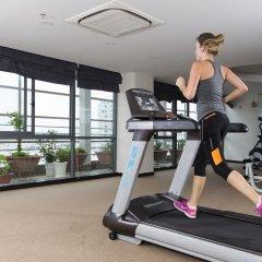 Galina Hotel & Spa фитнесс-зал