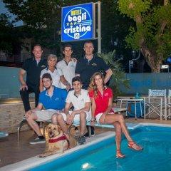 Отель Bagli - Cristina Италия, Римини - отзывы, цены и фото номеров - забронировать отель Bagli - Cristina онлайн бассейн