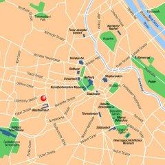 Отель Mercure Westbahnhof Вена городской автобус