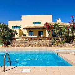 Отель Aegean Blue Villa бассейн фото 3