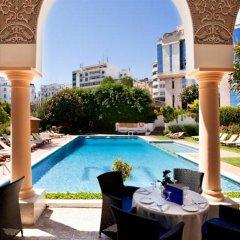 Отель El Minzah Hotel Марокко, Танжер - отзывы, цены и фото номеров - забронировать отель El Minzah Hotel онлайн бассейн фото 3