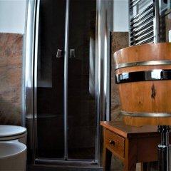 Отель Relais Castelbigozzi Строве ванная