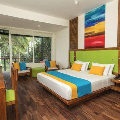 Отель Mermaid Hotel & Club Шри-Ланка, Ваддува - отзывы, цены и фото номеров - забронировать отель Mermaid Hotel & Club онлайн комната для гостей фото 4