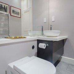 Отель Elegant Home near Kensington High Street Великобритания, Лондон - отзывы, цены и фото номеров - забронировать отель Elegant Home near Kensington High Street онлайн ванная фото 2