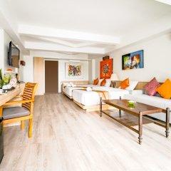 Отель Villa Cha-Cha Krabi Beachfront Resort Таиланд, Краби - отзывы, цены и фото номеров - забронировать отель Villa Cha-Cha Krabi Beachfront Resort онлайн комната для гостей фото 3