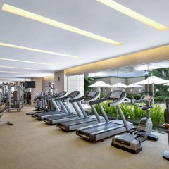 Отель The St. Regis Singapore фитнесс-зал фото 2