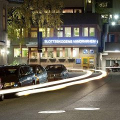Slottsskogen Hostel Гётеборг парковка