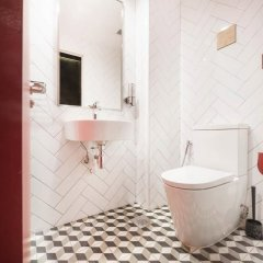 Отель Eighteen By Three Cabins ванная фото 2