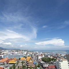 Отель City Beach Resort балкон