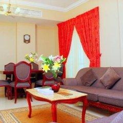Отель Emirates Stars Hotel Apartments Sharjah ОАЭ, Шарджа - 1 отзыв об отеле, цены и фото номеров - забронировать отель Emirates Stars Hotel Apartments Sharjah онлайн комната для гостей фото 2