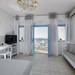 Отель Andromeda Villas Греция, Остров Санторини - 1 отзыв об отеле, цены и фото номеров - забронировать отель Andromeda Villas онлайн комната для гостей фото 5