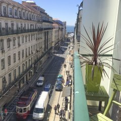 Отель LV Premier Baixa PR Португалия, Лиссабон - отзывы, цены и фото номеров - забронировать отель LV Premier Baixa PR онлайн балкон