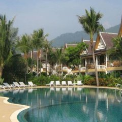 Отель Thai Ayodhya Villas & Spa Hotel Таиланд, Самуи - 1 отзыв об отеле, цены и фото номеров - забронировать отель Thai Ayodhya Villas & Spa Hotel онлайн бассейн фото 2