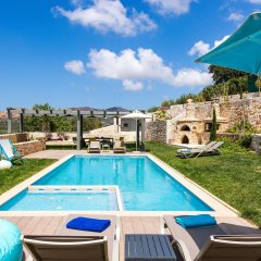 Отель Вилла Erondas Cretan Country Villas бассейн фото 3