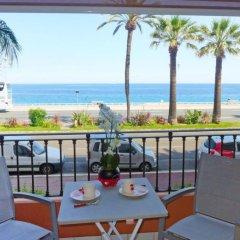 Отель Galets d'Azur Promenade des Anglais Франция, Ницца - отзывы, цены и фото номеров - забронировать отель Galets d'Azur Promenade des Anglais онлайн балкон
