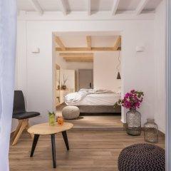 Отель Mediterranean Beach Palace Hotel Греция, Остров Санторини - отзывы, цены и фото номеров - забронировать отель Mediterranean Beach Palace Hotel онлайн комната для гостей фото 2