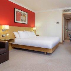 Отель Hilton Manchester Airport Манчестер комната для гостей фото 4