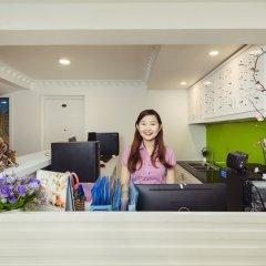 Апартаменты Thao Nguyen Apartment интерьер отеля