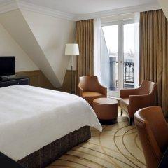 Paris Marriott Champs Elysees Hotel Париж комната для гостей фото 4
