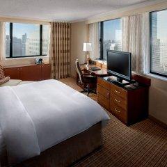 Отель New York Marriott Downtown США, Нью-Йорк - отзывы, цены и фото номеров - забронировать отель New York Marriott Downtown онлайн комната для гостей фото 5