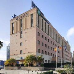 Отель Holiday Inn Express Ciudad de las Ciencias Испания, Валенсия - 1 отзыв об отеле, цены и фото номеров - забронировать отель Holiday Inn Express Ciudad de las Ciencias онлайн вид на фасад