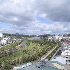 Hoang Minh Chau Ba Trieu Hotel Далат бассейн