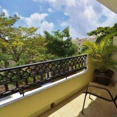 Отель El Campanario Studios & Suites Мексика, Плая-дель-Кармен - отзывы, цены и фото номеров - забронировать отель El Campanario Studios & Suites онлайн балкон