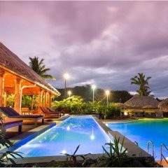 Отель Outrigger Fiji Beach Resort бассейн фото 3