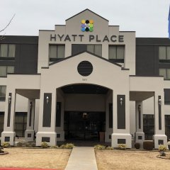 Отель Hyatt Place Oklahoma City - Northwest парковка