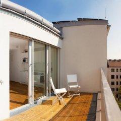 Апартаменты Prater Apartments балкон