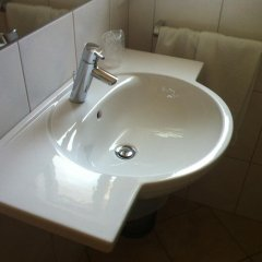 Отель SPARERHOF Терлано ванная
